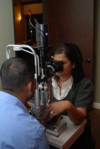 eye health exam